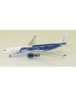 """Airbus A330-200 Hifly Malta """"Clean Seas"""" CS-TQW"""