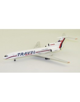 Tupolev Tu154M Travel Service OK-VCP with stand