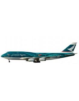 """Boeing 747-400 Cathay Pacific """"Asia's world city"""" B-HOY"""
