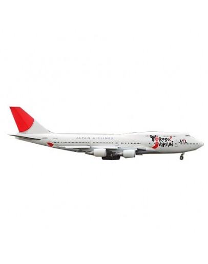 Boeing 747-400 JAL Yokoso! Japan JA8919