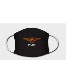 Máscara de Proteção - Brasão de Piloto