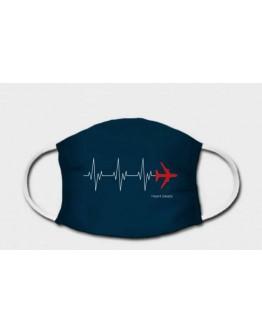 Máscara de Proteção - Batimento Aeronáutico