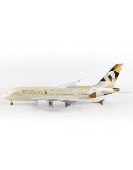 Airbus A380 Etihad Airways A6-APA W/Gear & Stand