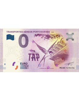 Bank Note - Transportes Aéreos Portugueses