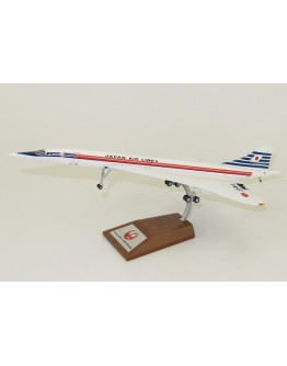 Concorde Japan air lines JA0557 with stand