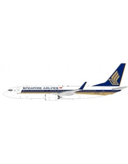 Boeing 737-800 Singapore Airlines 9V-MGA With Stand