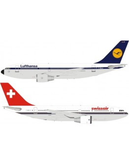 Airbus A310-221 Lufthansa / Swissair F-WZLH With Stand