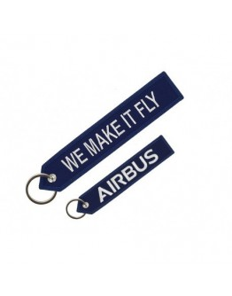 "Blue Airbus ""we make it fly"" Porta Chaves"