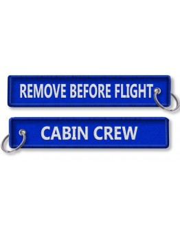 Cabin Crew-Remove Before Flight-BLUE Porta Chaves