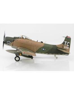 "Douglas A-1H Skyraider, USAF, ""The Good Buddha"" SN#34609, 1st SOS, 56th SOW, Nakhon Phanom 1968"
