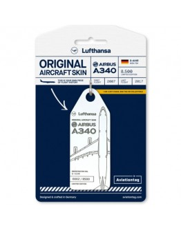 PORTA- CHAVES Lufthansa Airbus A340 – D-AIHR