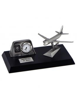 Airbus A320 Relógio de mesa