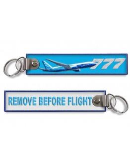 B777 - Remove Before Flight Porta-chaves