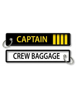 CAPTAIN-Crew Baggage Porta-chaves