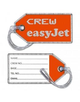 Etiqueta de Bagagem Easyjet Crew (bordado)