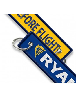 Ryanair-Remove Before Flight Porta-chaves