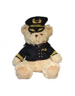 Peluche Urso Piloto